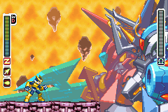 Megaman Zero 3 - Battle  - Final Boss Omega Zero Second Form - User Screenshot